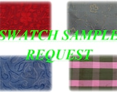 Swatch Sample Request For Silks sold by Silks Unlimited. Low Flat Shipping Charges