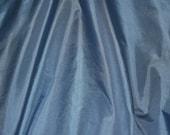 Light Blue Tissue Taffeta Silk, 100 Silk Fabric, 44 quot Wide, By The Yard (TS-7328)