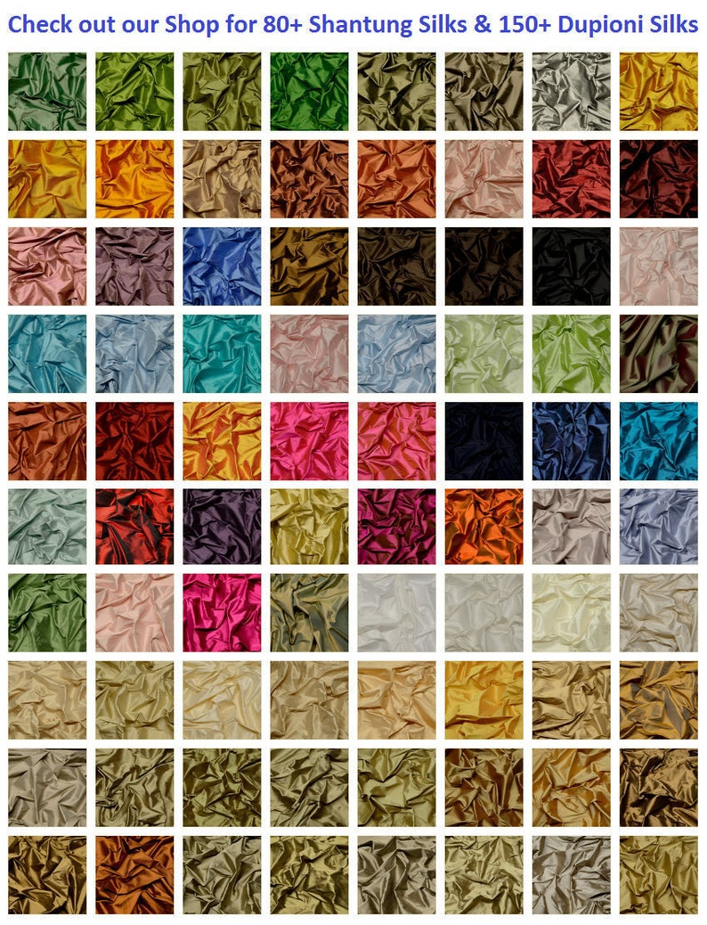"SF-170B 44/"" Wide By The Yard Iridescent Lilac Haze 100/% Shantung Silk Fabric"