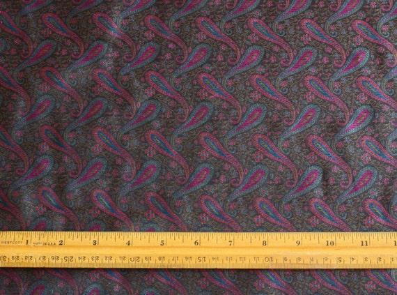 JD-393 44 Wide By The Yard RedGoldBlack Brocade SilkRayonMetallic Fabric
