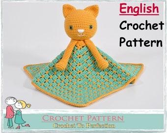Crochet Lovey Pattern Free Blanket Bear Teddy Security Blanket Etsy