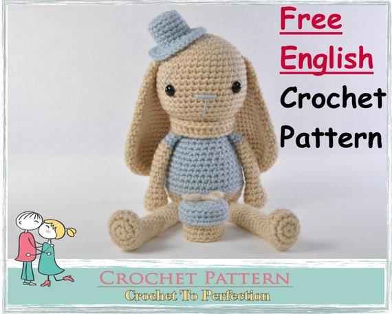 Amigurumi Sweetheart Plush Bunny Crochet Free Patterns - Crochet ... | 456x570