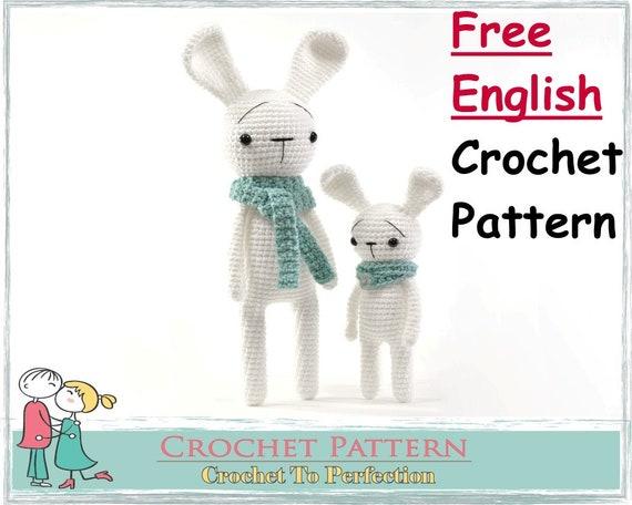 FREE amigurumi pattern! Cory the Giant Bunny - Airali | 456x570