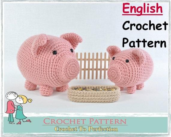 Sweet pig amigurumi pattern | Amiguroom Toys | 456x570