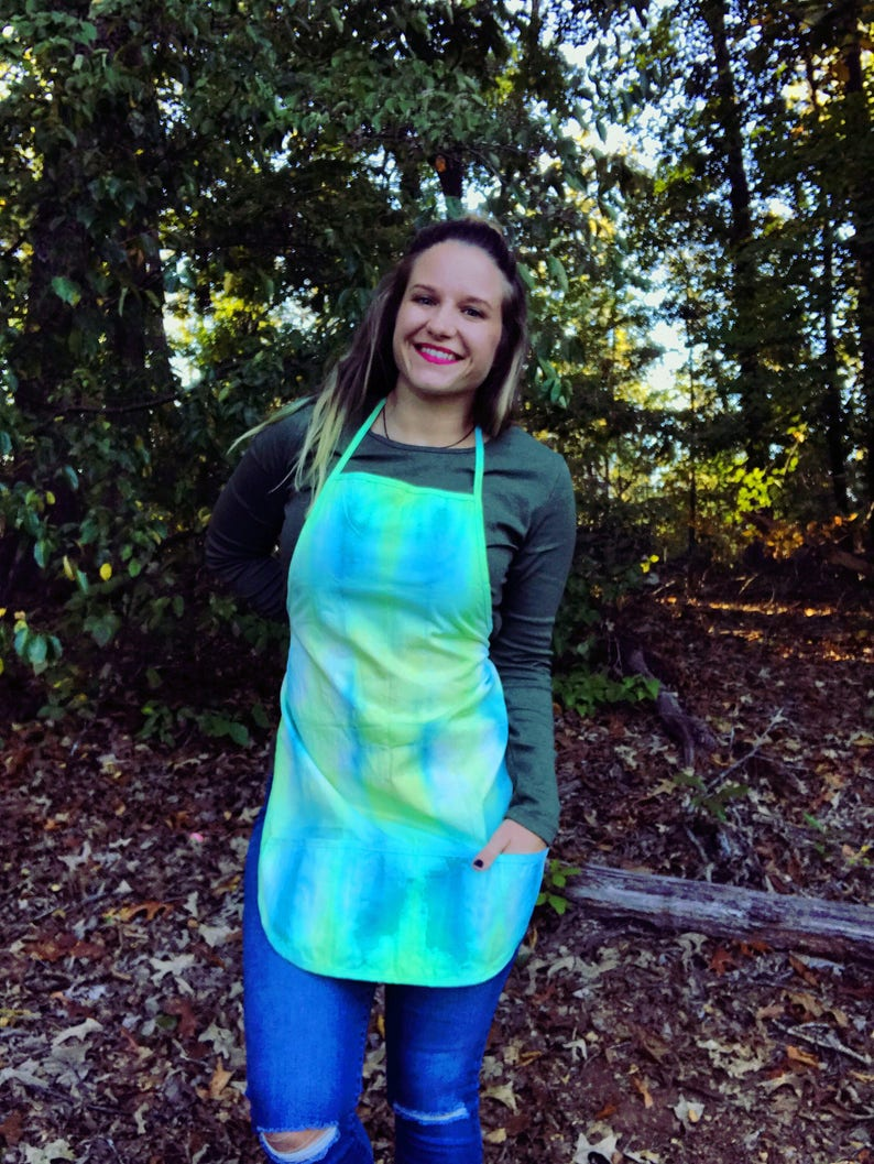 Adult Tie Dyed Apron