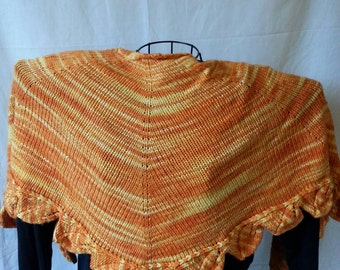Wrapped in Leaves Shawl