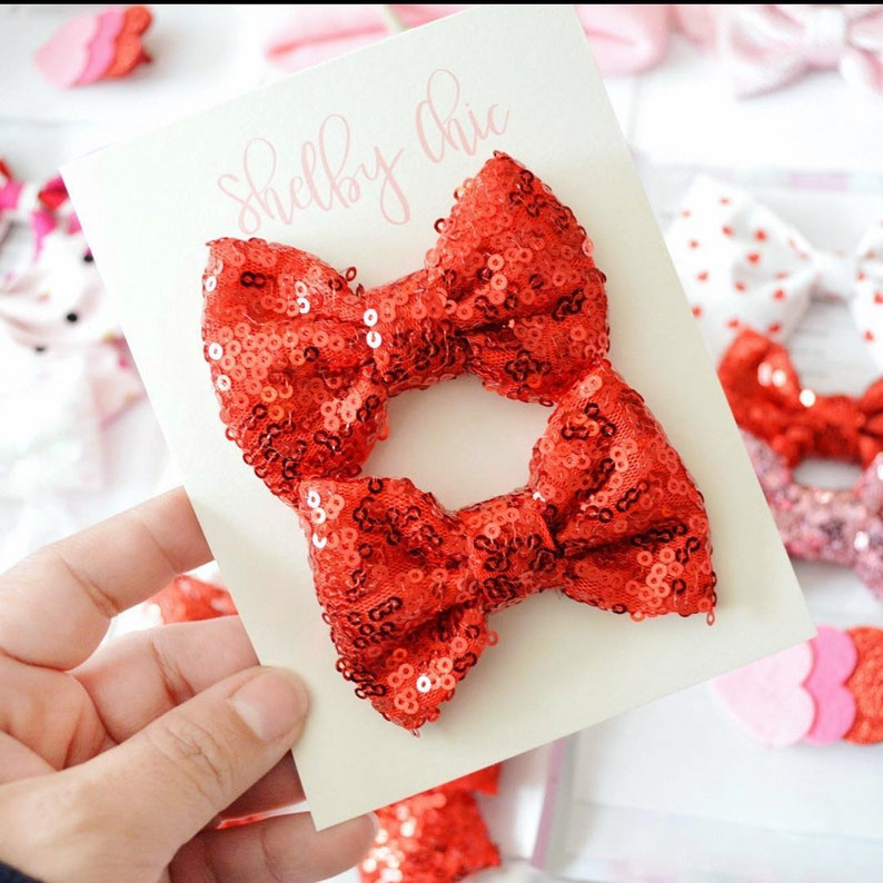 MINI Sparkle Bow image 0