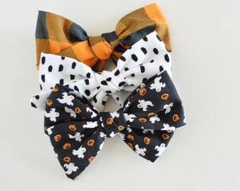 Halloween Hand Tied Bows