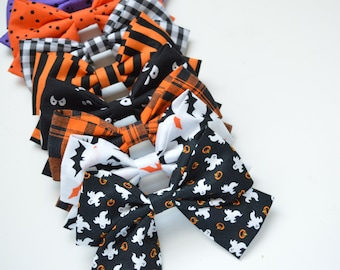 Halloween Schoolgirl Fabric Bow