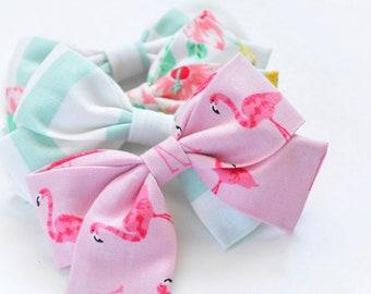 Summer Sailor Cotton Bows