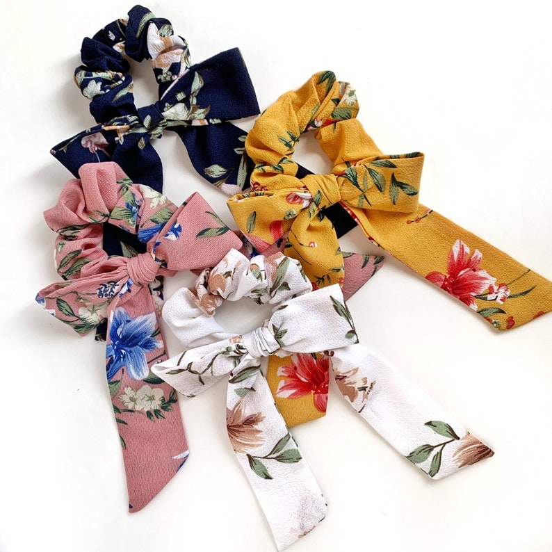 Scrunchie Bow Ties image 0