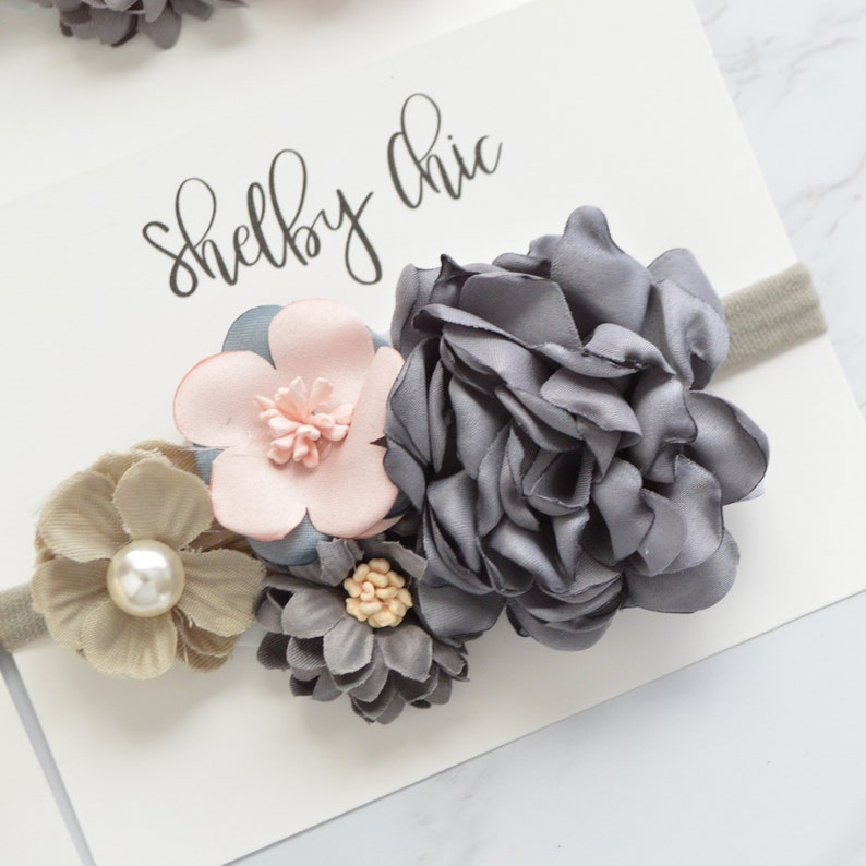 Claire Floral Headband image 0