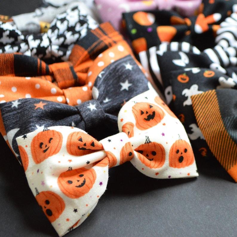 Halloween Mini Bows image 1