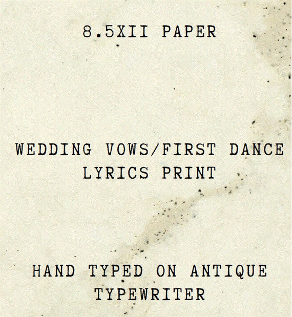 Paper Anniversary L 1st Anniversary Gift For Him Or Her Wedding Vows L Gifts For First Anniversary