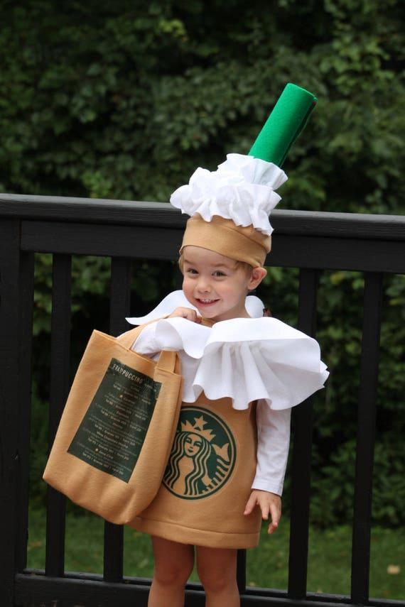Halloween Costume Frappuccino Coffee Kid S Costume