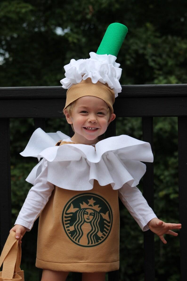 Halloween Costume Frappuccino Coffee Kid S Costume 3 Piece