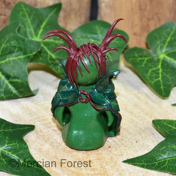 Handmade Pagan Gift Wicca Cernunnos Herne Lord of the Wild Horned God Figurine