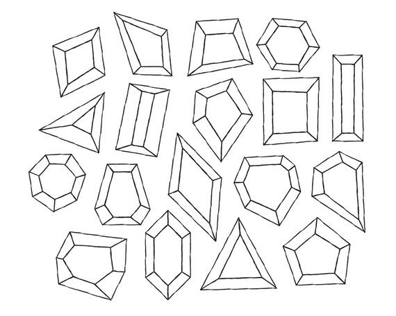 Digital Diamond Clipart