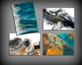 Assorted Cards, Set of Cards, Blank Greeting Cards, Stationery Cards, Blank Cards, All Occasion Cards, Greeting Card Set, Painting Art Cards