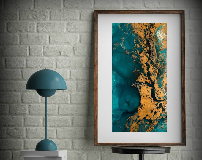 Top Selling Prints, Abstract Wall Art Prints, Minimalist Prints, Teal and Copper Art Prints, Modern bedroom prints, Living room decor art
