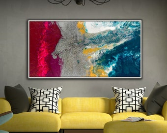 Pink Painting Large Wall Art Gifts For Her Abstract Painting Print Canvas Art Abstract Art Modern Contemporary home decor Gift for Mom
