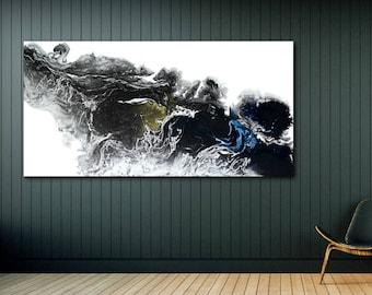 Abstract Art, Large Abstract Print , Giclee Print , Canvas print, Modern Art , Fine Art Print, Abstract Expressionism, Wall Decor, Wall art