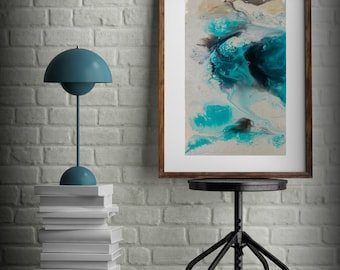 0390dd01a99 Zen Painting Watercolor Painting Office Art Print Abstract Painting  Contemporary Art Abstract Painting Large Wall Art Bathroom Decor