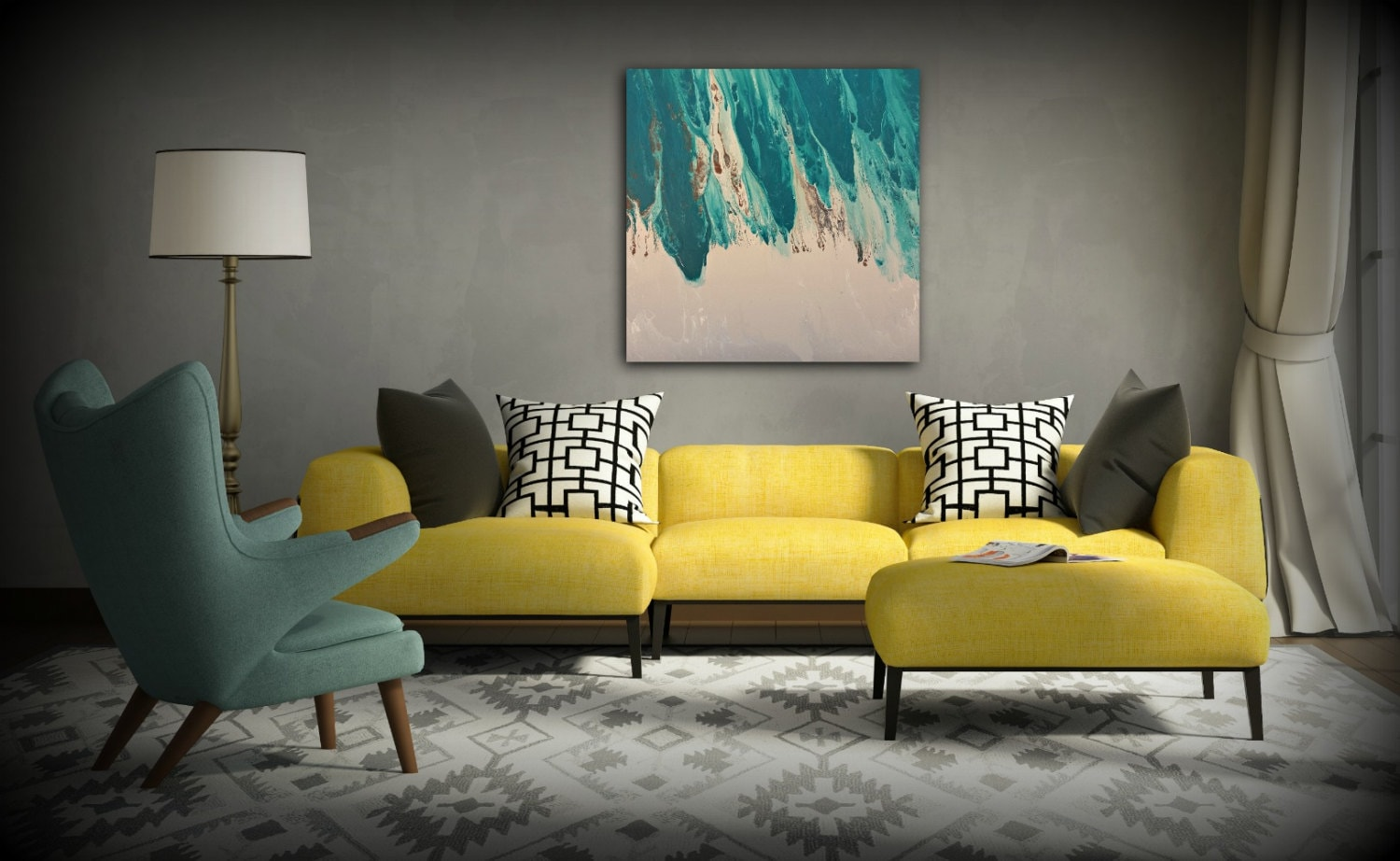 ORIGINAL Painting Art Painting Acrylic Painting Abstract Painting ...