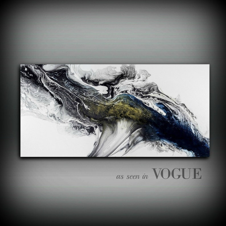 Modern Painting Acrylic Painting GICLEE Art Print Abstract image 0