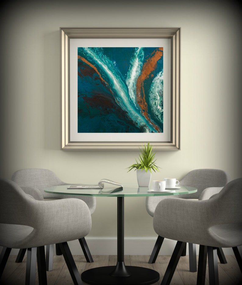 Dining Room Art Square Wall Prints Fine Giclee