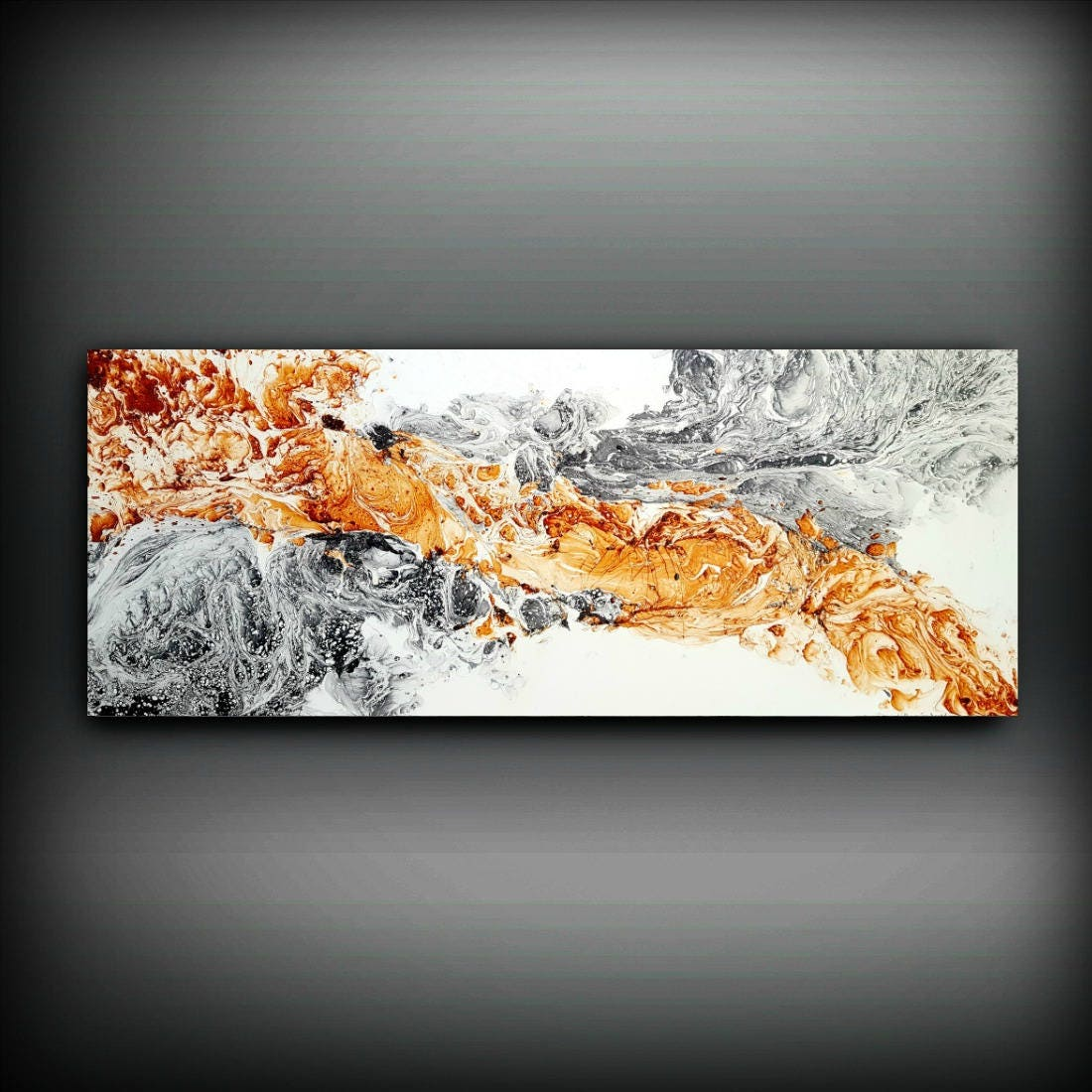 Minimalist Original Abstract Painting, Contemporary Art