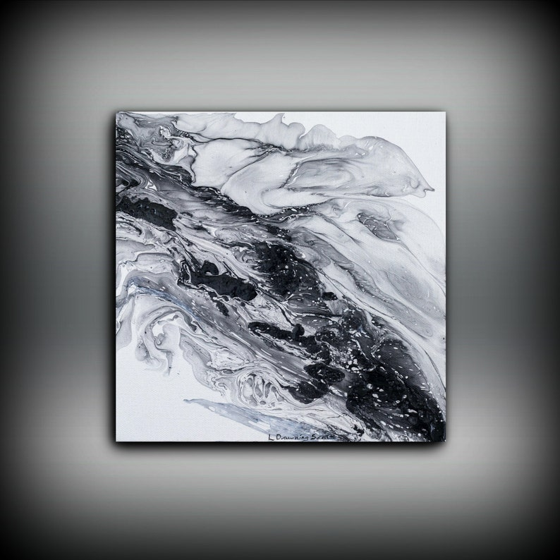 Large painting PRINT giclee print of acrylic painting image 0
