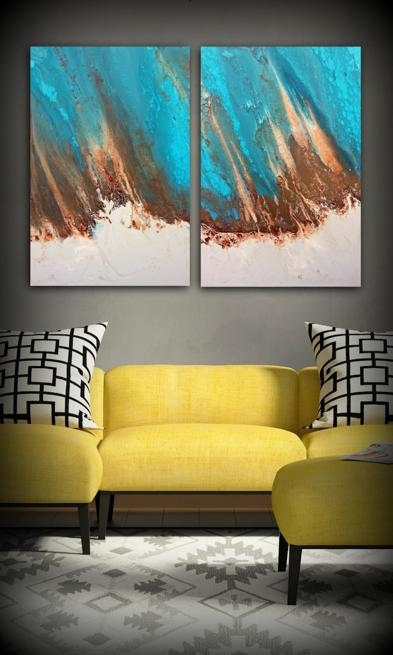 Art Painting Abstract Painting Acrylic Painting XL / Extra image 0