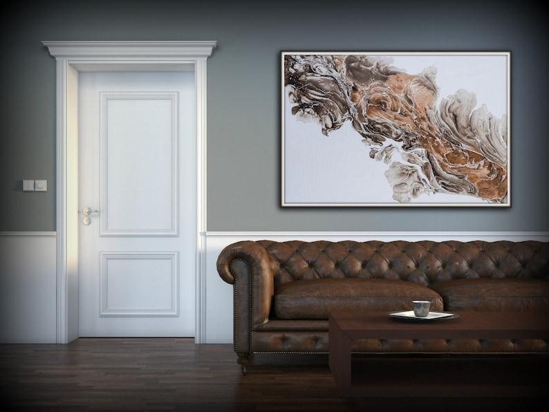 Fine Art Painting Abstract Art Wall Art Print Modern image 0