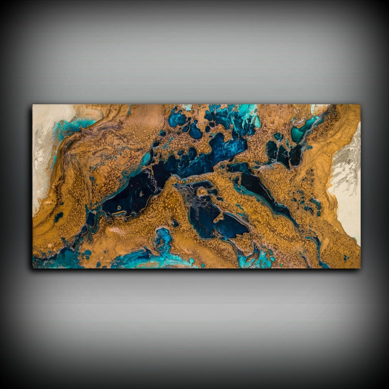 66390b761f8f9 Giclee Abstract Fine Art Print from Original Acrylic Abstract