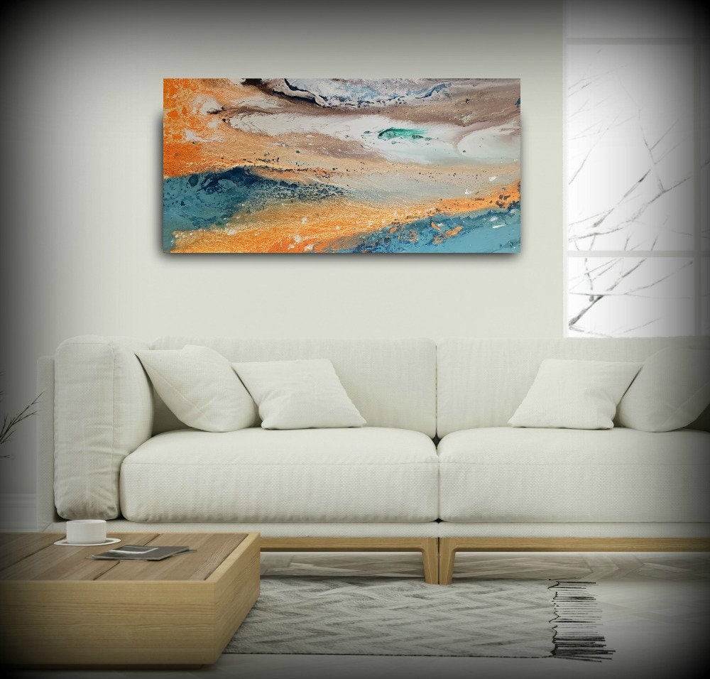 Abstract art modern wall painting wall decor home decor wall art vintage inspired abstract artwork abstract painting modern art