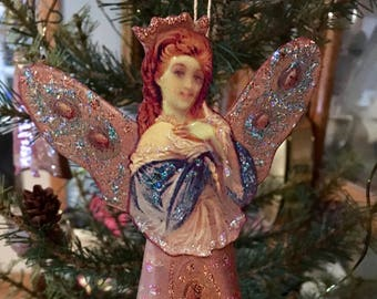 Victorian Angel Ornament Reproduction