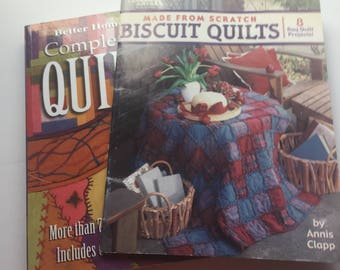 Complete Guide To Quilting.  750+ Step By Step Color Photos.  Every Basic And Technique Available.   Biscuit Quilts From Scratch.