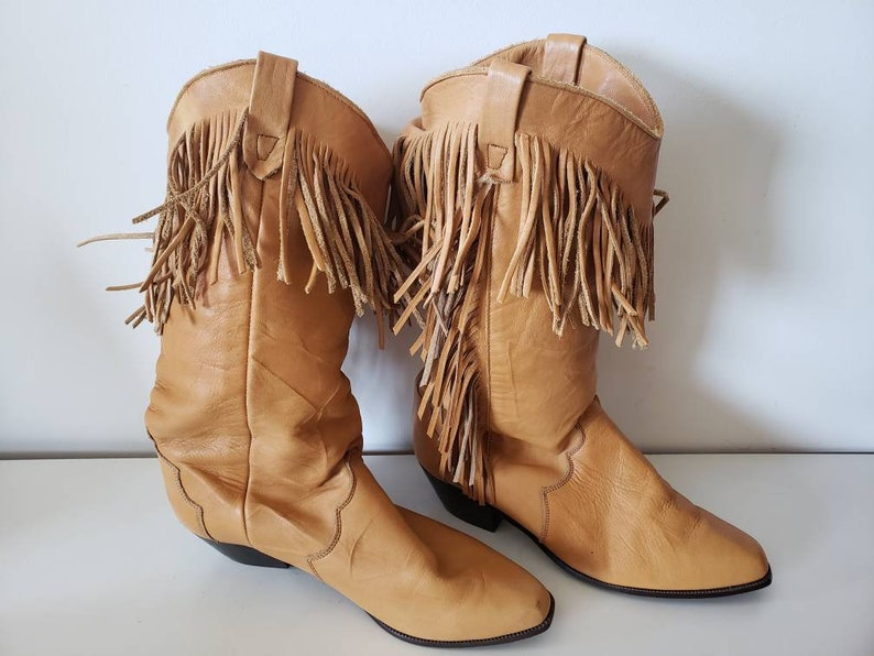 Tan Cowboy Boots + FREE SHIPPING | Shoes |