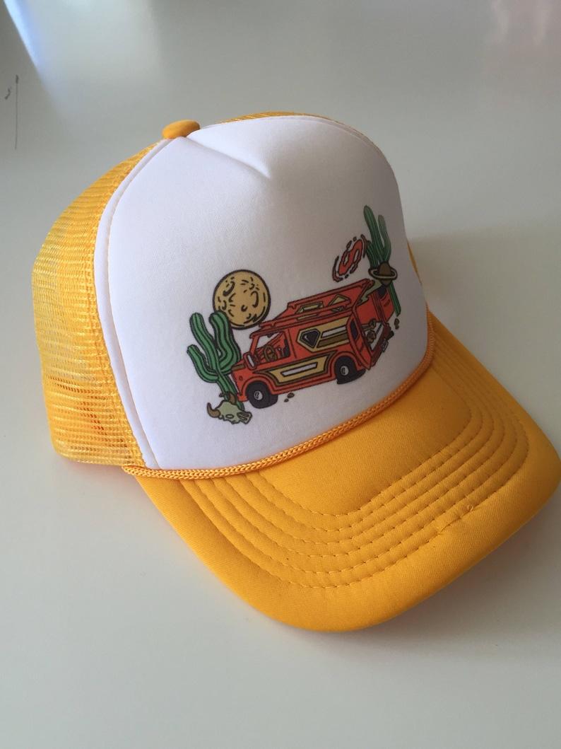 ec50f998084fe 70s Chevy Van Trucker Hat desert vanners Mesh hat 70s style