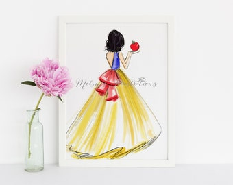 PRINCESSES PRINTS