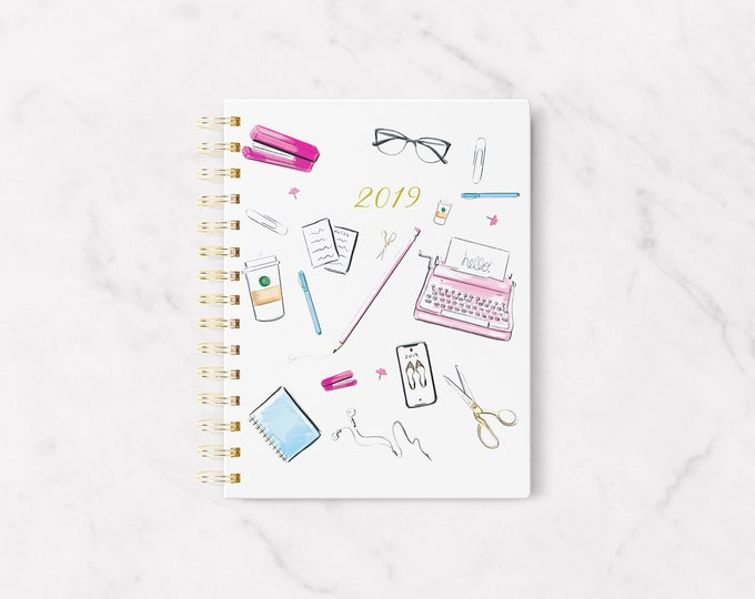 Featured listing image: Pre-order 2019 OFFICE SUPPLIES PLANNER