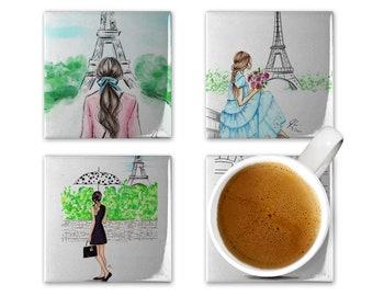Paris Coaster Set of 4