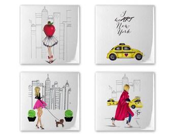 NYC Coaster Set of 4