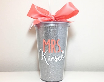 Personalized Teacher Tumbler, Custom Teacher Cup, Personalized Teacher Gift Idea, Teacher Appreciation Gifts, Teacher Gifts, Teacher Present