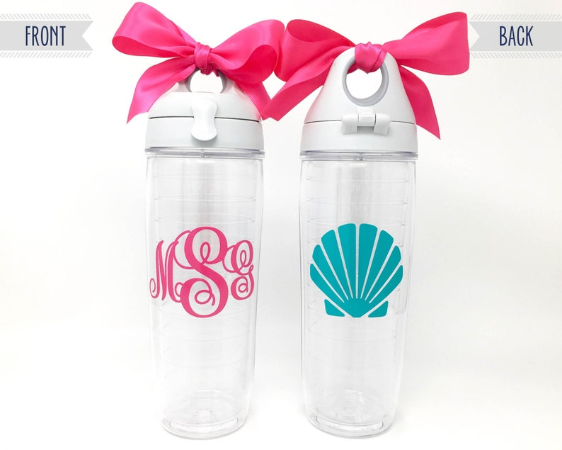 d52696cf070 Customized Tervis Tumbler Water Bottle 24oz Monogrammed Water | Etsy