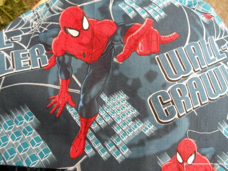 spider hero Women/'s pixie style scrub