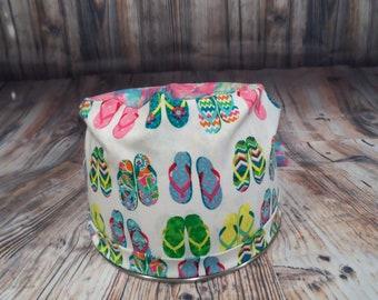 Women's Pixie Style Scrub Hat (Summer Sandals)