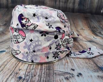 Women's Pixie Style Scrub Hat (Girly Little Ponies)
