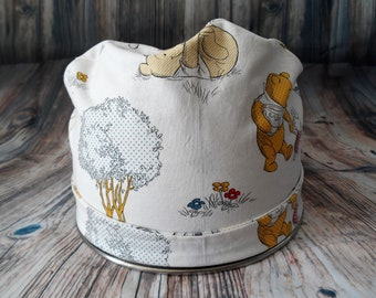 Women's Pixie Style Scrub Hat (Pooh and Friends)